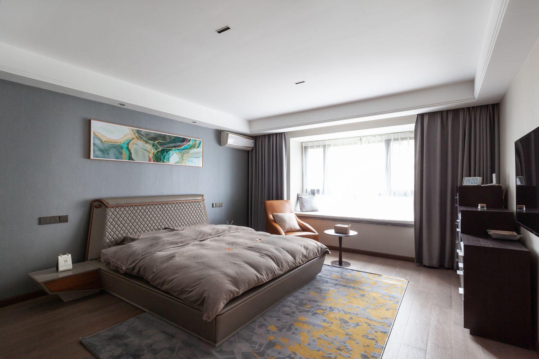 现代简约-万豪国际200平米-四室两厅装修案例
