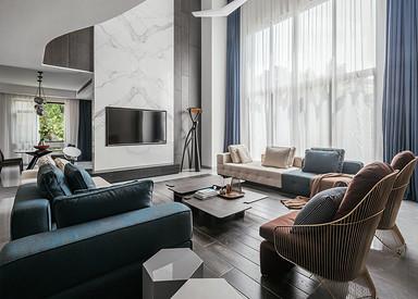 现代风格-优山美地510平米-别墅装修案例