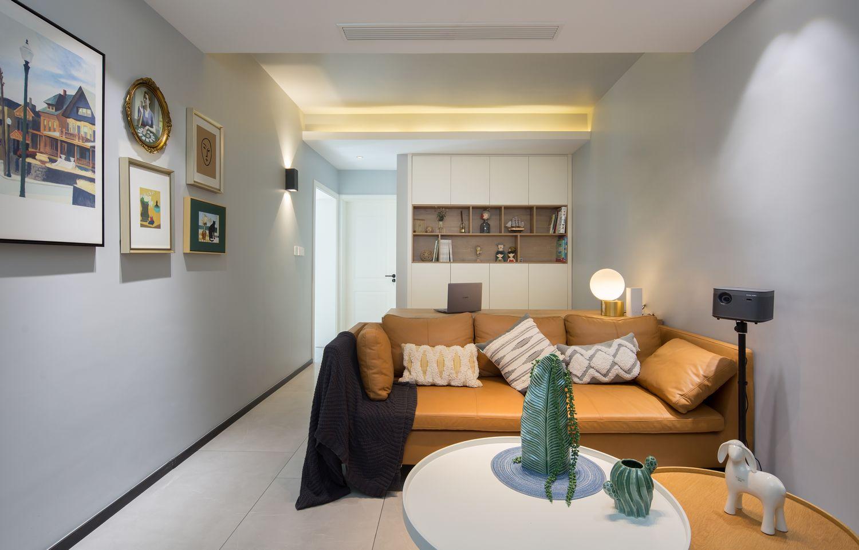 现代北欧-南园路130平米-三室两厅装修案例