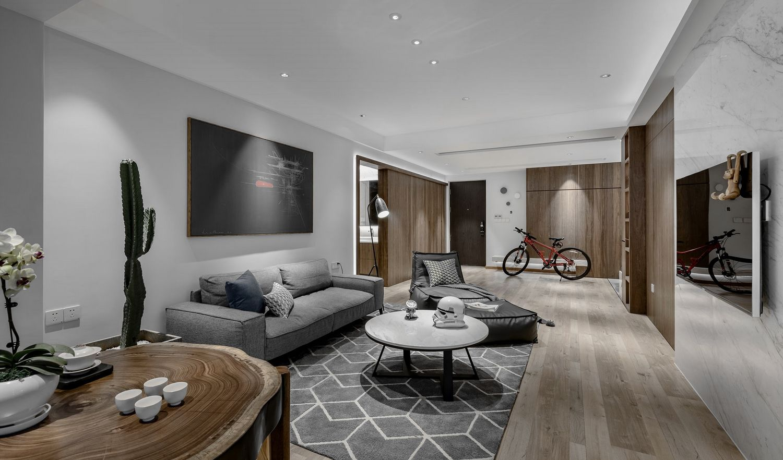 现代简约-颐景苑116平米-三室两厅装修案例