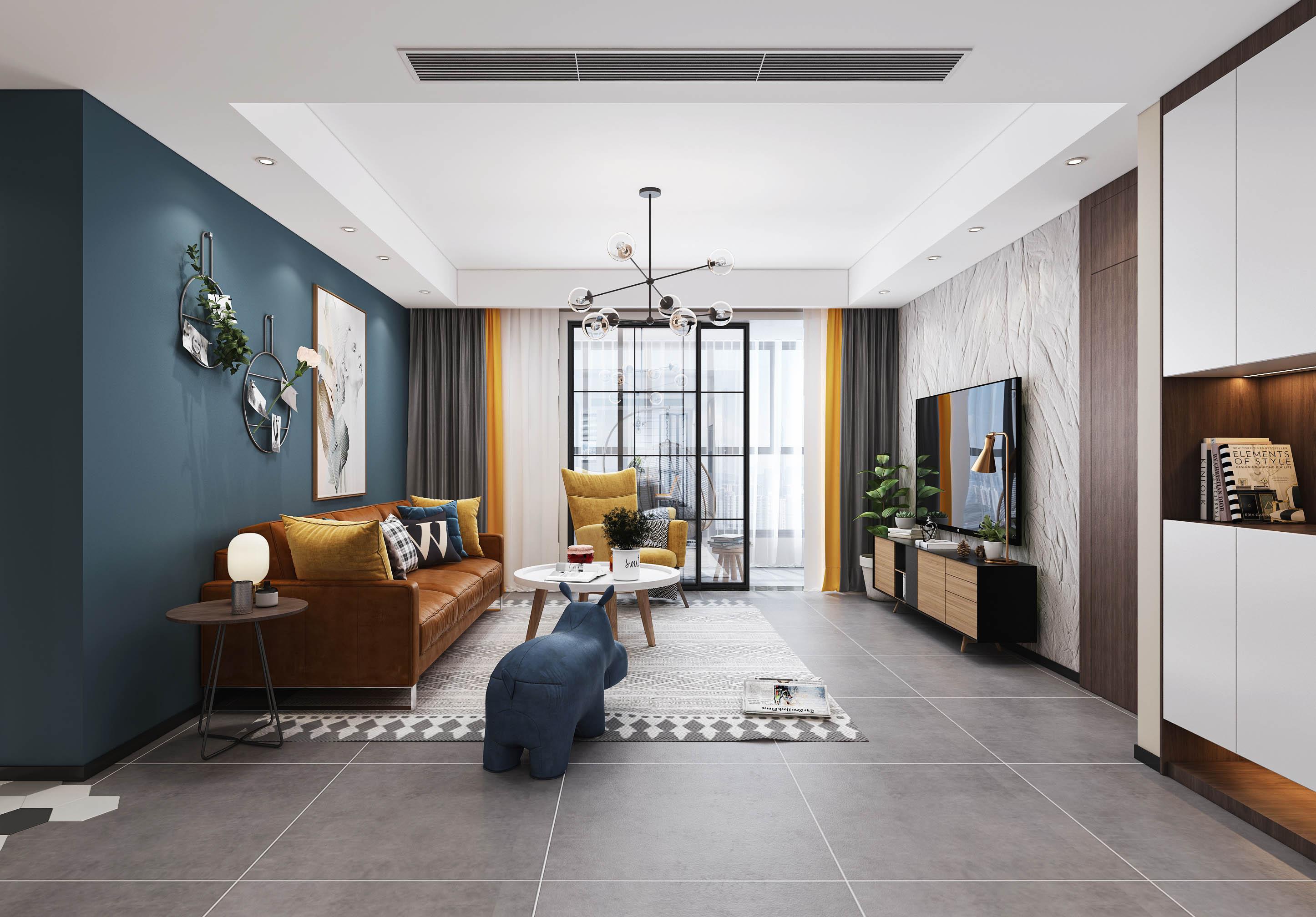 富都豪园  四室两厅 160平米 装修设计案例