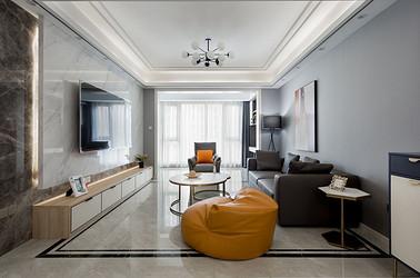 现代风格-中南世纪花城140平米- 四室两厅装修案例