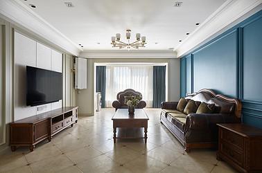 美式风格-华强城158平米- 四室两厅装修案例