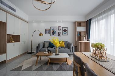现代北欧-世茂九龙庭89平米- 两室一厅装修案例