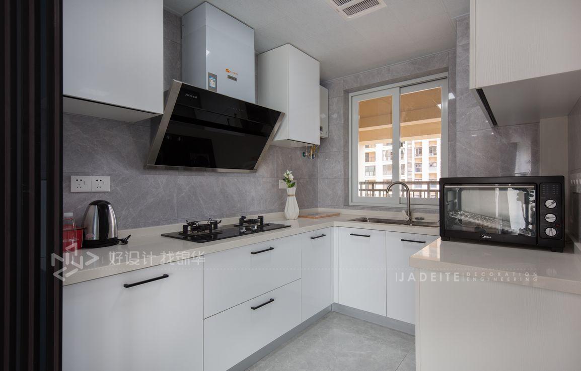 现代北欧-世茂九龙庭89平米- 两室一厅装修案例装修-两室一厅-北欧