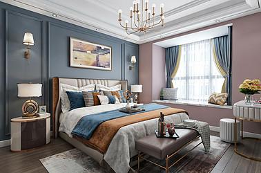 欧式风格-英伦上院-六室两厅装修案例