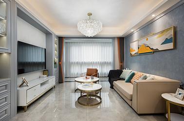 美式轻奢-中南熙悦122平-四室两厅装修案例