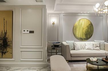美式轻奢-山水壹号110平米-两室两厅装修案例