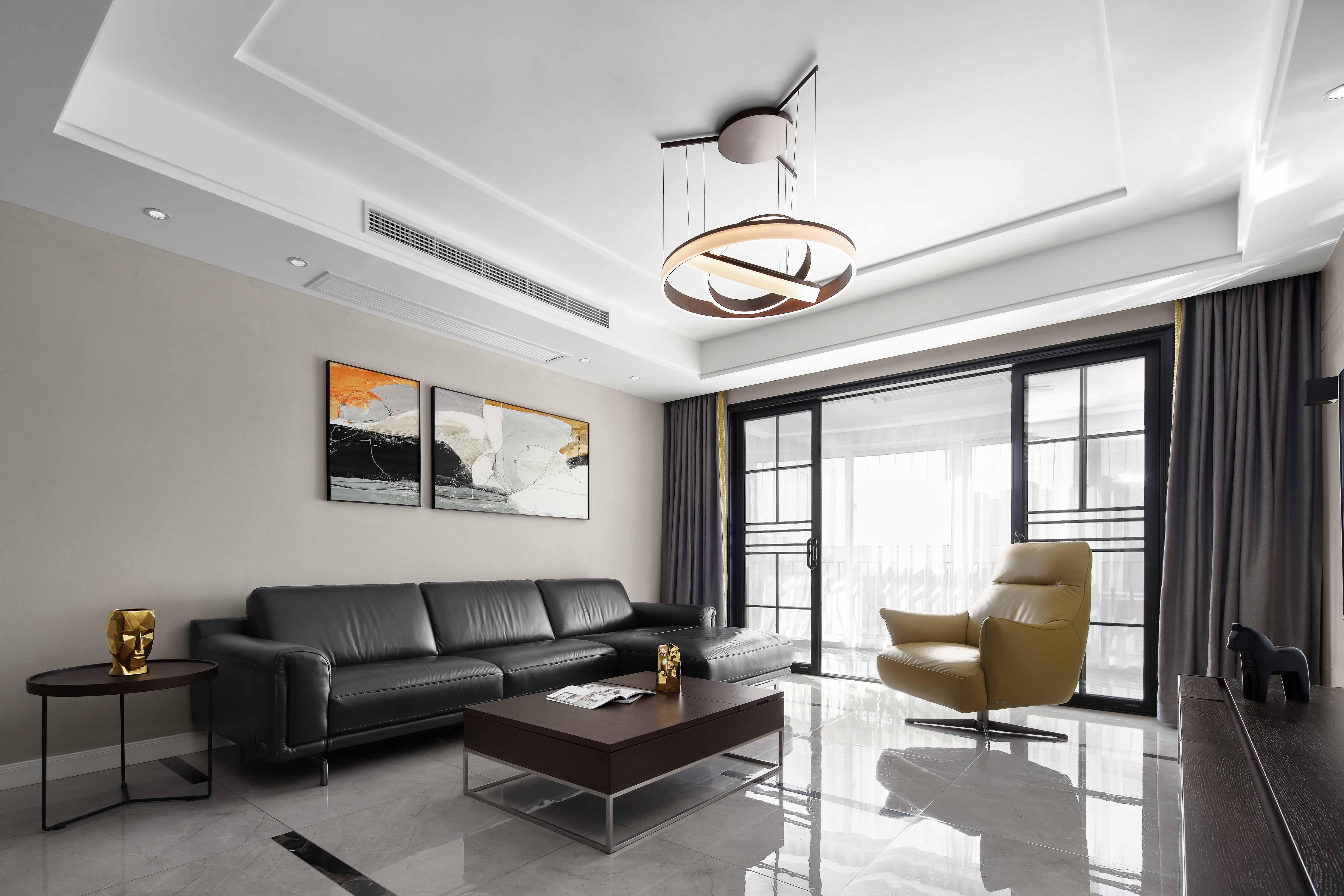 现代简约-碧桂园165平米-四室两厅-装修案例