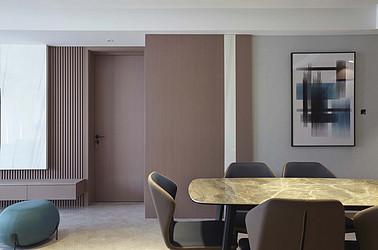 现代简约-奥体尚府140平米-三室两厅-装修案例