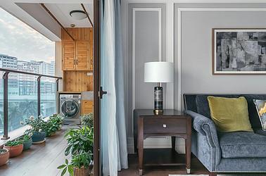 美式轻奢-五山新苑120平米-三室两厅装修案例