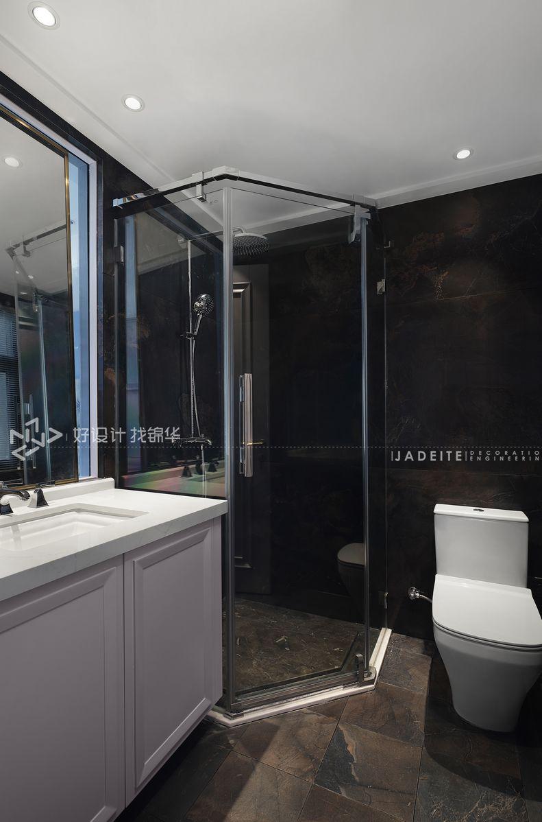 装修设计-万濠世家134平米-三室两厅装修案例装修-三室两厅-简美