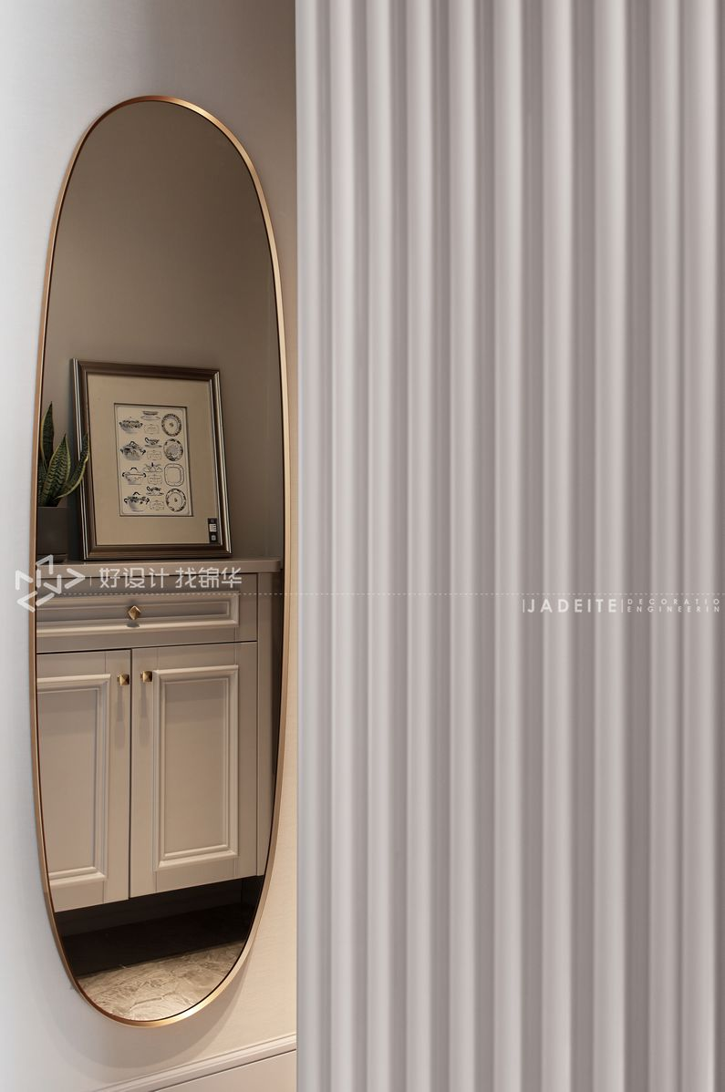 装修设计-万濠世家134平米-三室两厅装修案例