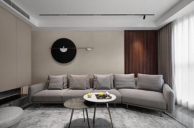 现代简约-私宅160平米-三室两厅装修案例