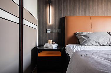 现代简约-尚海湾110平米-两室两厅装修案例