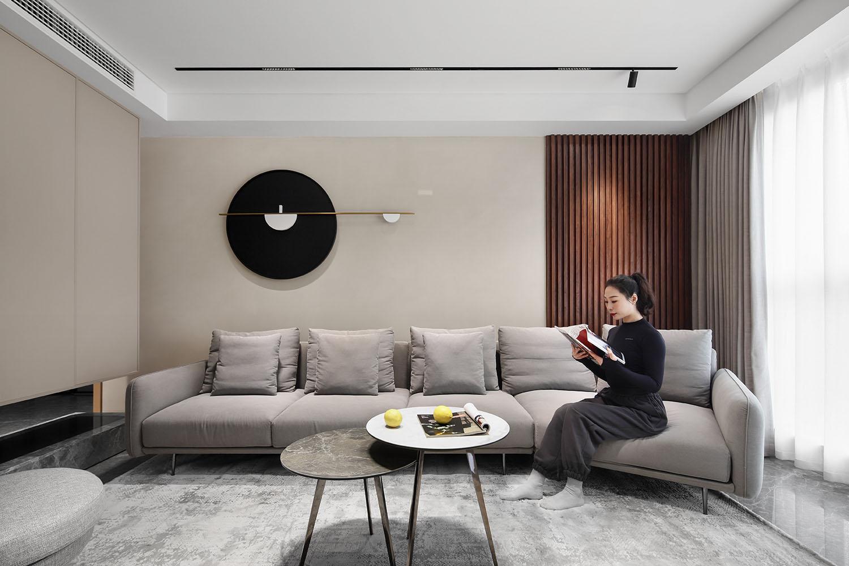 现代简约-私宅 160平米-三室两厅装修案例