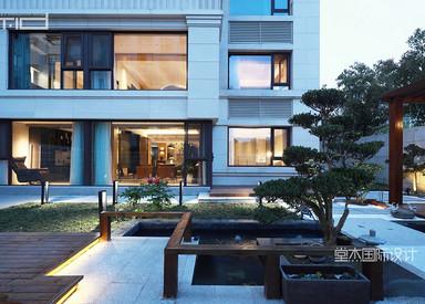 城山隐-280平米复式-现代简约别墅装修设计