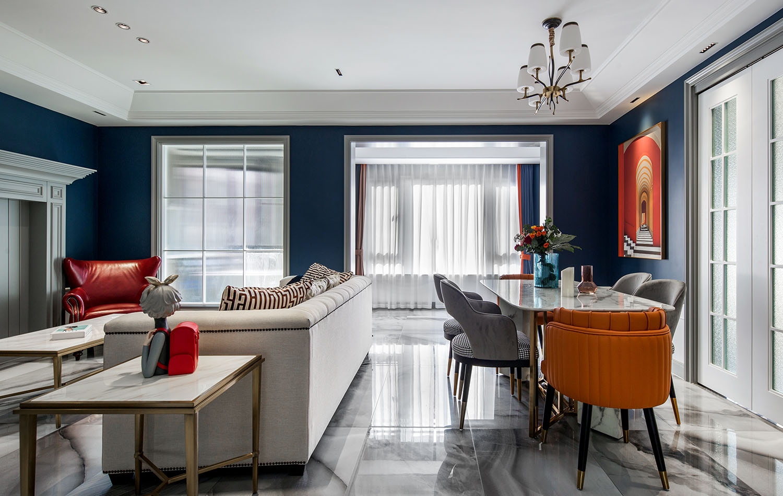 混搭-佳期漫150平米-五室两厅一厨两卫  -装修案例