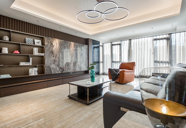 现代简约-时代悦城-四室两厅192平米-装修案例