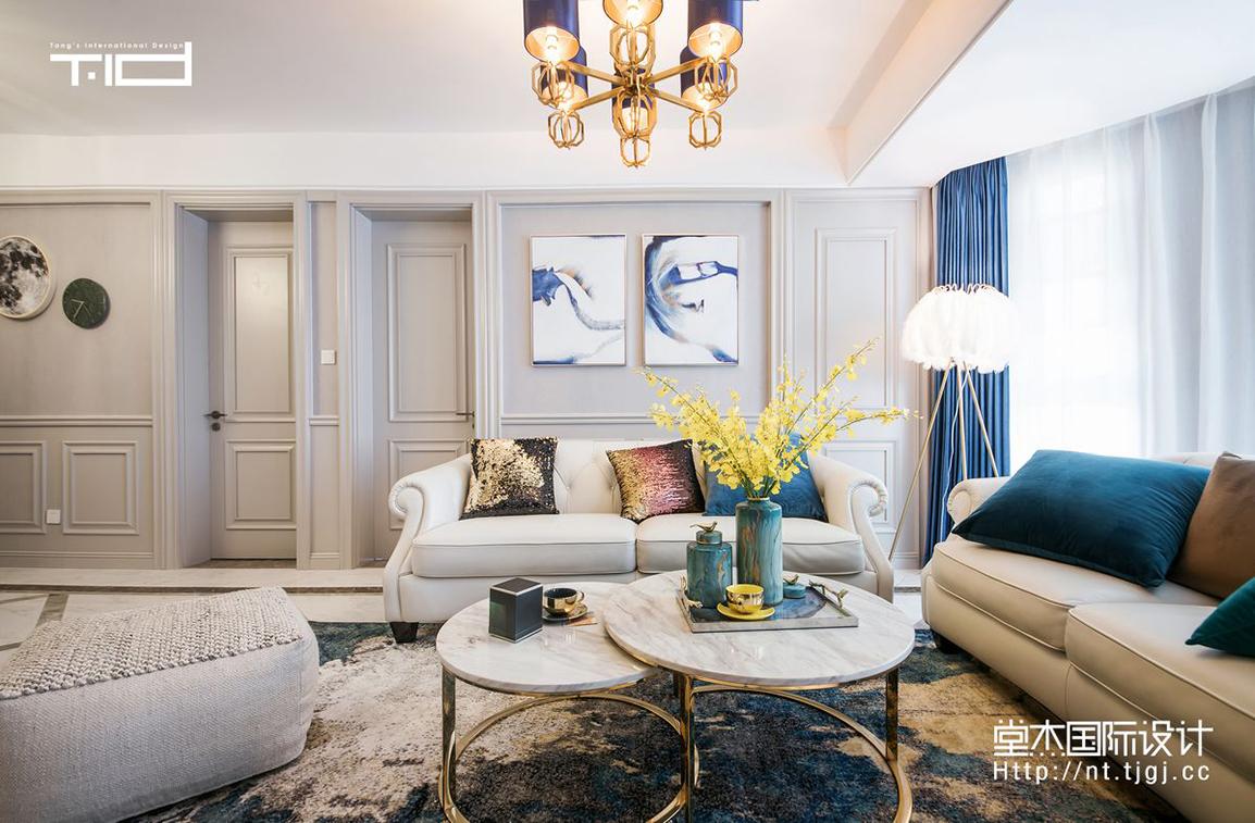 美式风格 中南世纪花城 四室两厅 180平