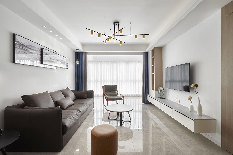 万濠山庄-143㎡-现代简约-四室两厅装修设计案例