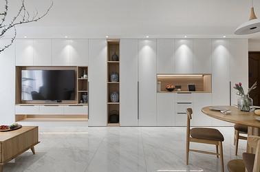 华润悦锦湾-141平米-北欧风格-四室两厅-装修设计