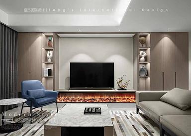 330平米【城市嘉苑】现代简约 复式大平层装修设计实景案例