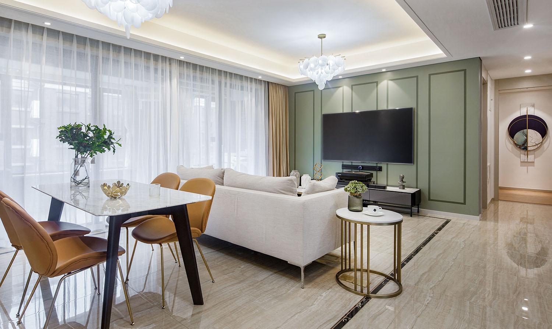 佳期漫 四室两厅两卫 现代简约  140平米装修