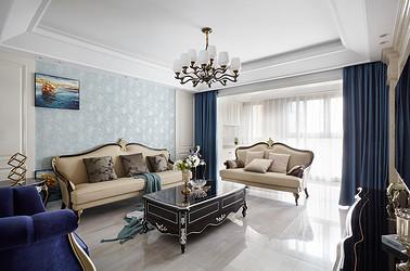 华强城-四室两厅-美式风格-143平米-装修设计