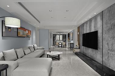 湖畔天下 140平米 现代风格 四室两厅装修设计