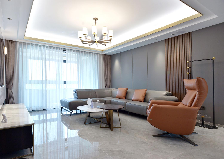 星光耀 160平米三室两厅-现代简约装修设计