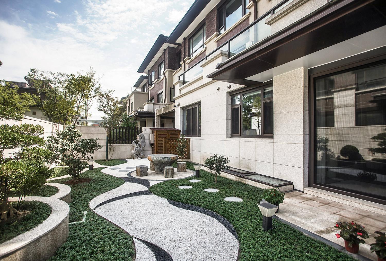别墅装修设计  九里香堤406平米 欧式古典装修