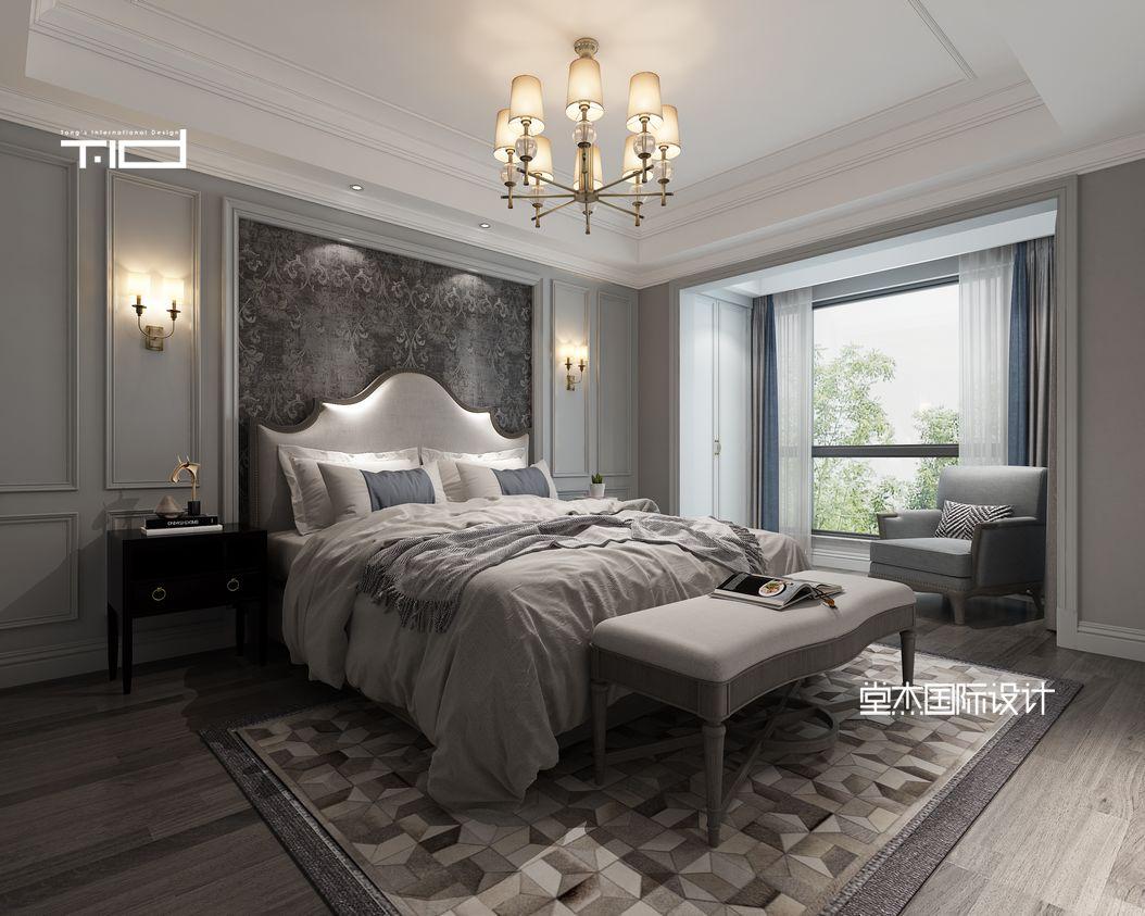 碧桂园颐和樾园 别墅装修设计304平米 美式风格