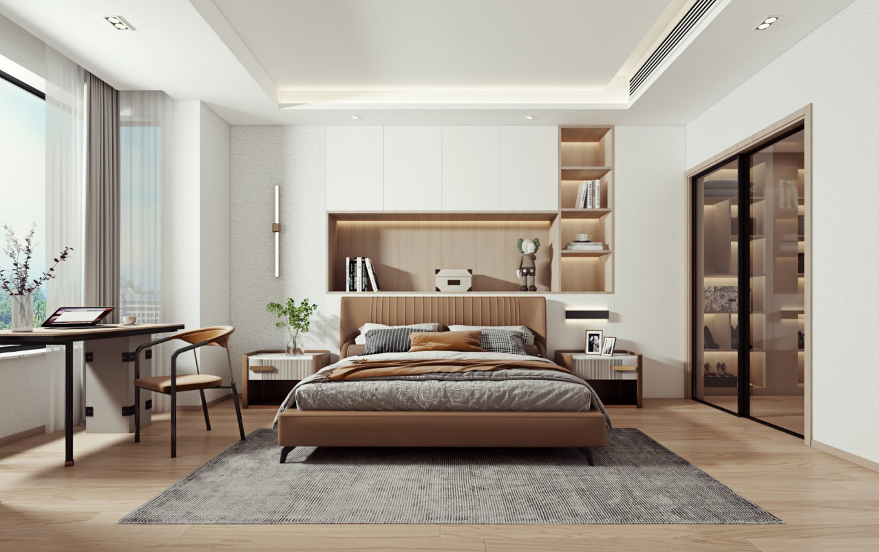 紫琅上郡 268平米 四室四卫两厅 现代风格
