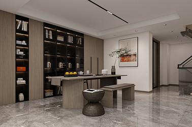 中南熙悦 338平米 南通别墅装修设计 现代风格
