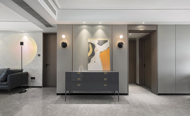 苏建名都城 140平米 三室两厅两卫 现代简约风格