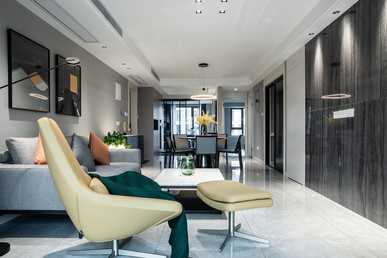 悦海名邸 130平米  现代简约风格  装修设计
