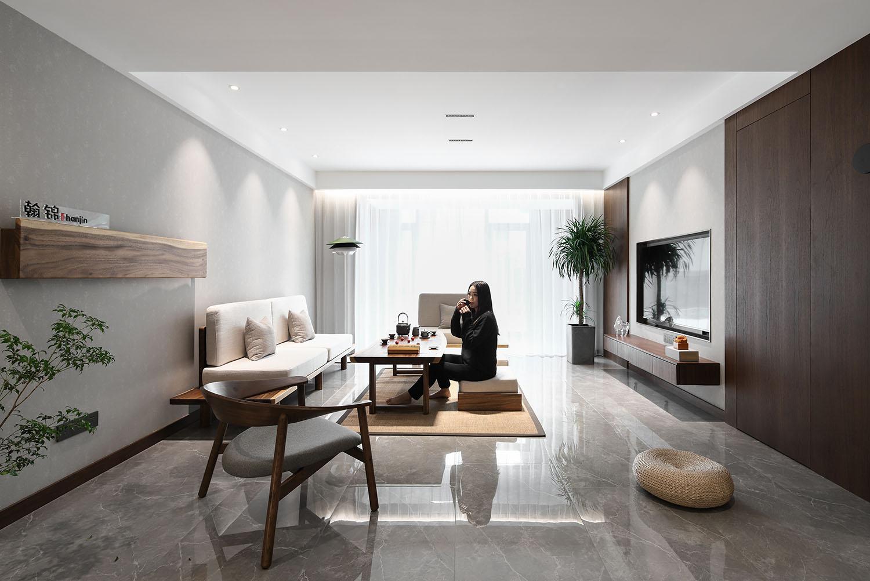 东湖华庭.私宅  145平米  北欧风格 装修设计案例