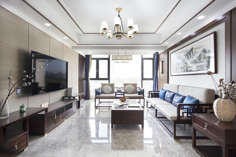春江阅  145平米  四室二厅两卫 新中式风格