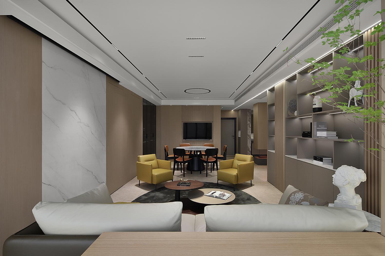 海安·中洋现代城-165㎡  现代简约  老房翻新装修设计