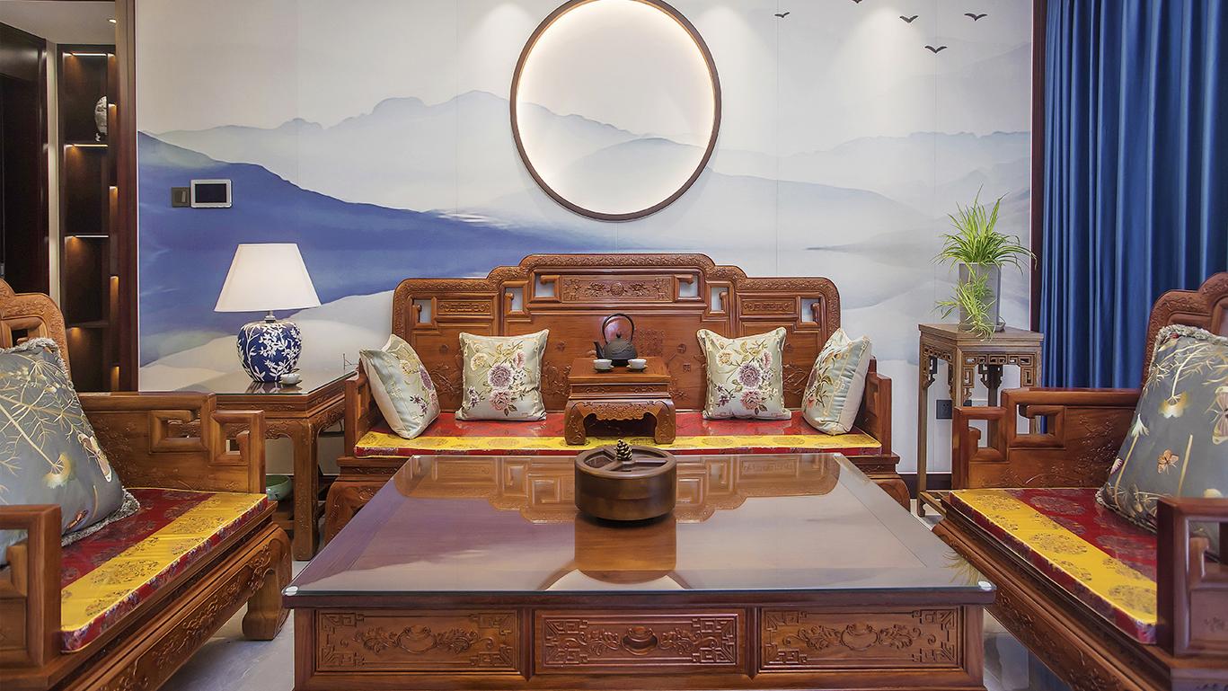 新中式 世伦名郡 三室两厅 150平米