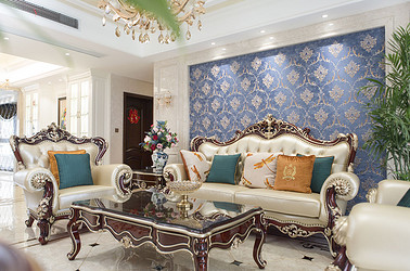 雅居乐 200平米  三室两厅两卫 美式新古典