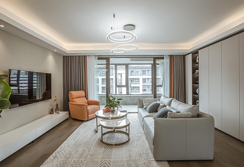 静海府  128平米  三室两厅两卫 现代风格 装修设计