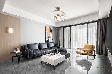 万科大都会130平米 三室两厅两卫  现代风格