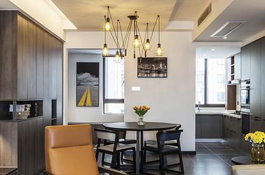 混搭  绿地新都会  三室两厅  138平米装修设计案例