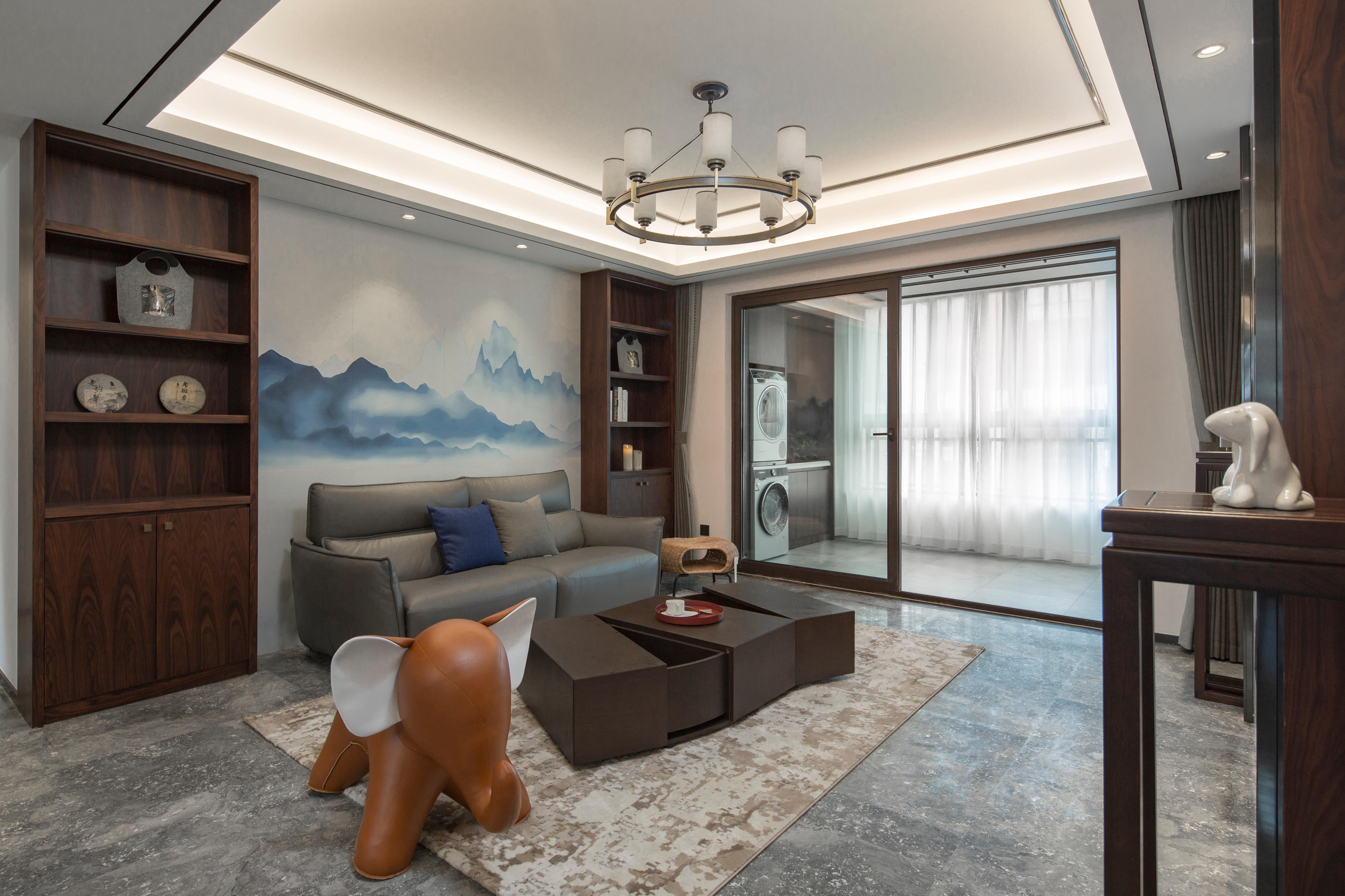 现代简约-白鹭郡130㎡-三室两厅装修案例