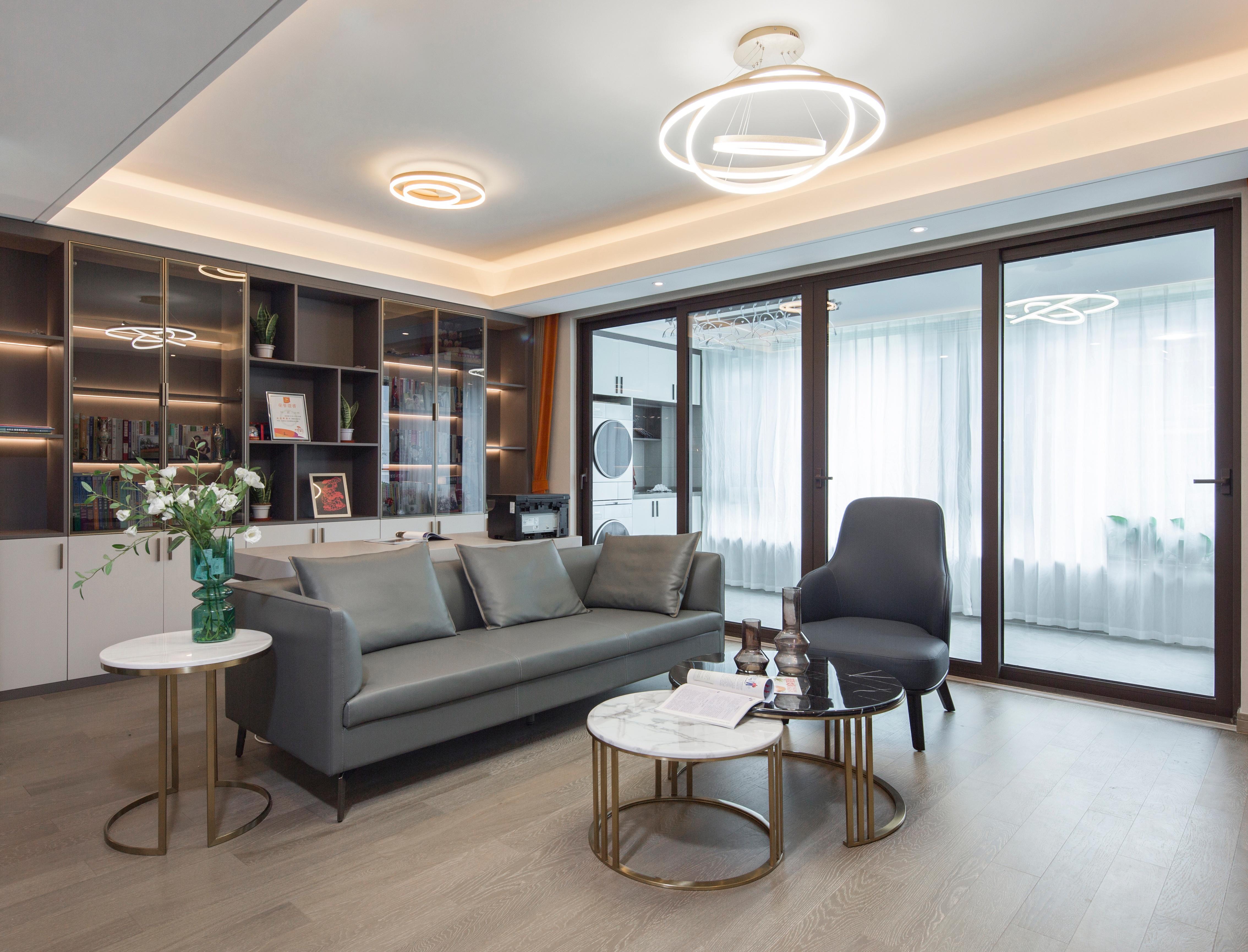 现代简约-静海府125㎡- 两室两厅装修案例