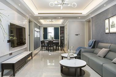 现代美式-中海铂樾府140㎡ -四室两厅装修案例