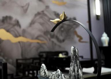 金水湾 420平米  新中式别墅装修设计案例分享