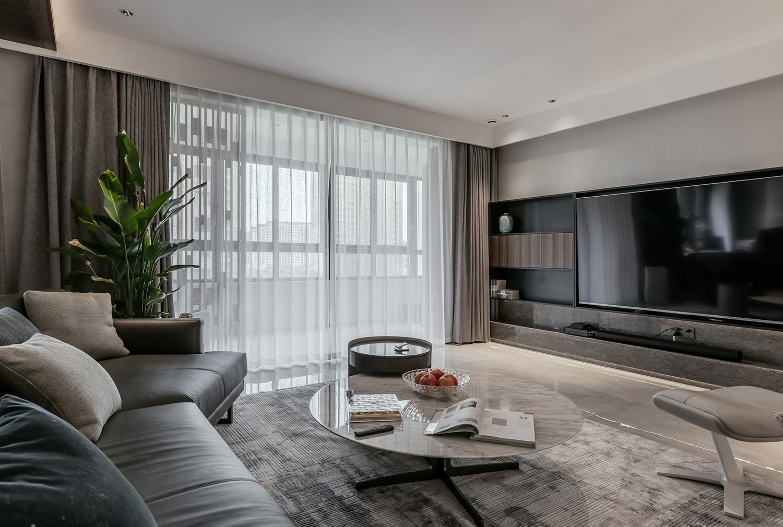 【生活】文景嘉苑  220平米 四室两厅 现代简约设计分享